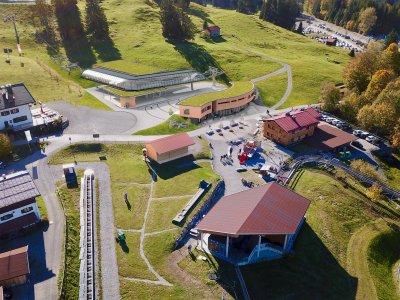 Modell neue Mittelstation Söllereck Frontansicht
