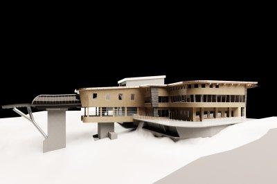Animation Bergstation Nebelhornbahn