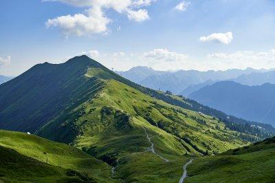 Weg 1: Ausblick auf Panorama Rundweg