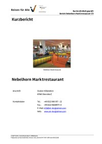 Nebelhornbahn Marktrestaurant Kurzbericht