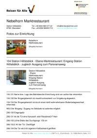 Prüfbericht Nebelhorn Marktrestaurant