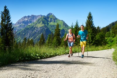Wanderung vor dem Großen Widderstein