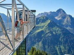 Panoramaaufzug vor dem Widderstein