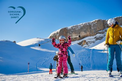 Skifahren mit der ganzen Familie
