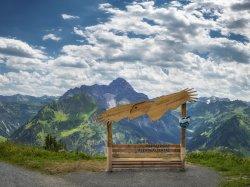 Fotopunkt am Walmendingerhorn