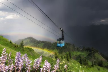 Regenbogen am Walmendingerhorn