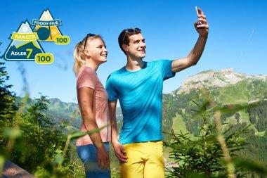 Selfie vor dem Ifen-MMC