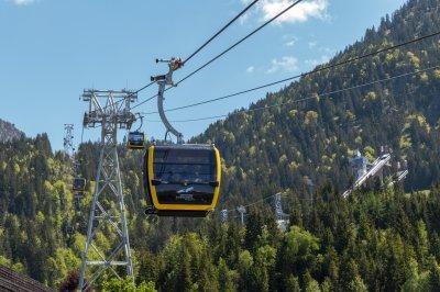 Die neuen Nebelhorn Kabinen