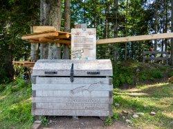 Schatztruhe Kletterwald