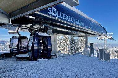 Bergstation Söllereckbahn Winter