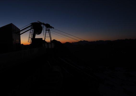 Sonnenaufgang am Nebelhorn
