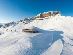 Das Ifenplateau mit der neuen Bergstation