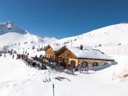 Gemütliche Einkehr auf der Alpe Bierenwang