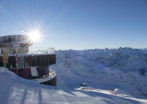Sonnentag am Nebelhorn