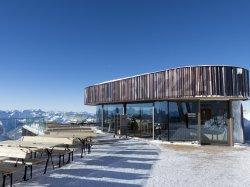 An der Nebelhorn Gipfelstation