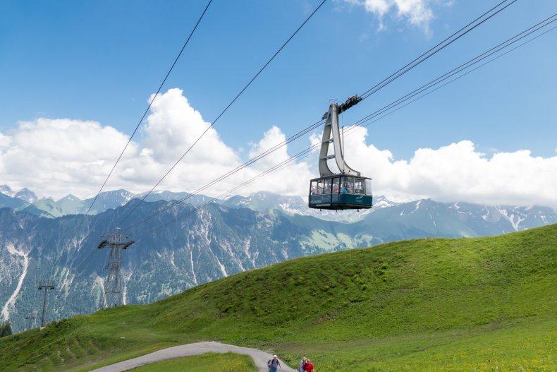 Die Fellhornbahn bringt Sie ins 2-Länder-Wandergebiet