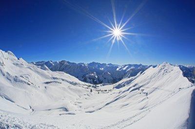 Winterzauber am Seealpsee