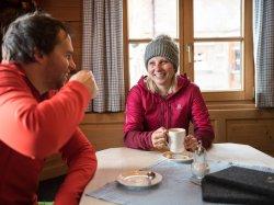 Heißgetränk auf der Alpe Bierenwang
