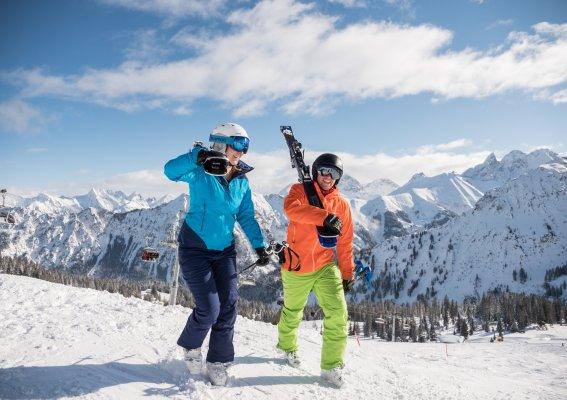 Perfekter Start in den Skitagn