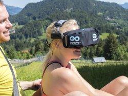 Die virtuelle Welt vor Augen