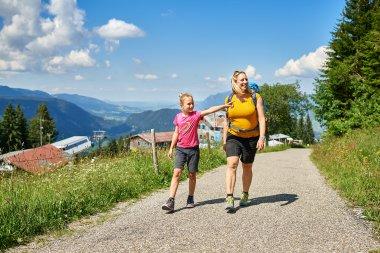 Wanderung Richtung Alpe Schrattenwang