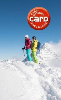 Allgäu-Gletscher-Card Produktshop