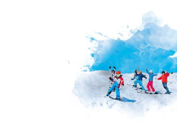 KV Skifahren Gruppe-Schule
