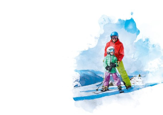 KV Familien Skifahren 1