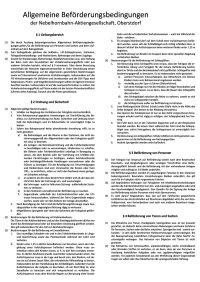 Allgemeine Beförderungsbedingungen Nebelhornbahn AG
