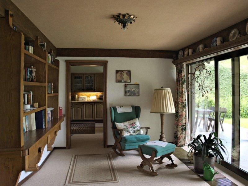 Wohnzimmer Lese-Ecke