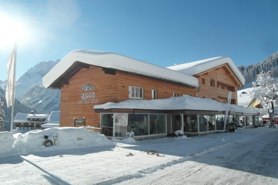 Hilbrand Fassade Winter