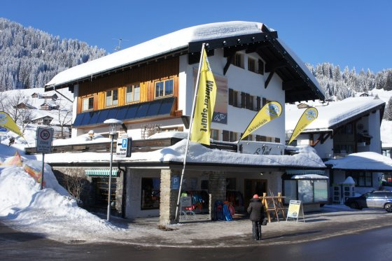 Pauli Fassade Winter