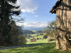 Hütte in Hüttenberg bei Ofterschwang