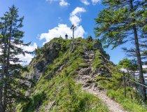 Gipfelkreuz vom Straußenberg