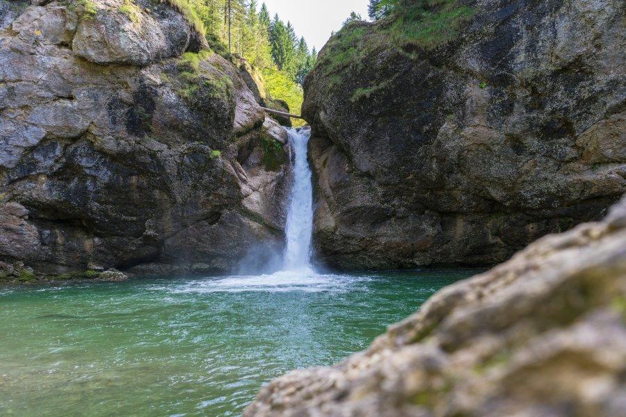 Untere der Buchenegger Wasserfälle