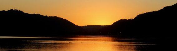 Alpsee Sonnenuntergang