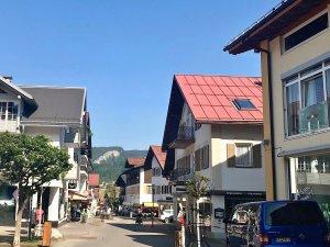 Marktplatz, Blick zur Weststraße