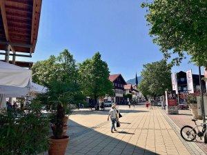 Bahnhofplatz Blick nach Süden