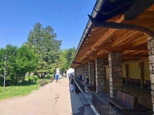 Wandelhalle im Kurpark