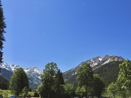 Ausblick vom Parkplatz Faistenoy