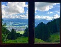 Grünten Ausblick vom Grüntenhaus
