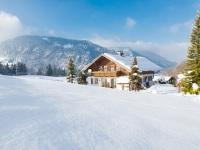 Winteransicht Ferienhaus Thannheimer - Engenkopf