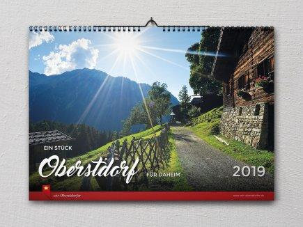 Bildkalender 2019 Wir Oberstdorfer