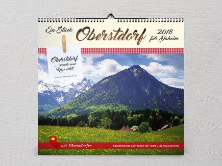 Kalender 2018 Wir Oberstdorfer