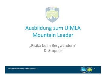 210512 Risiko beim Bergwandern