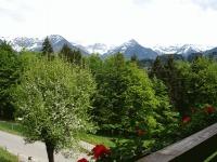 Aussicht FeWo Nebelhorn