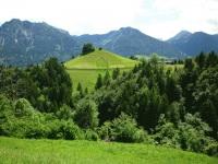 Blick in die Oberstdorfer Berge.