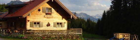 Alpe Reuterwanne mit Terrasse
