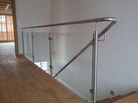 Edelstahl-Glas-Geländer