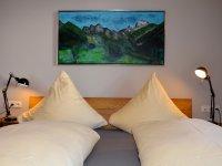 Oberstdorf Ferienwohnung Wurl Schlafzimmer